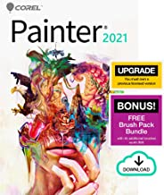 $229 » Corel Painter 2021 Upgrade | Digital Painting Software | Illustration, Concept, Photo, and Fine Art | Amazon Exclusive Fre...