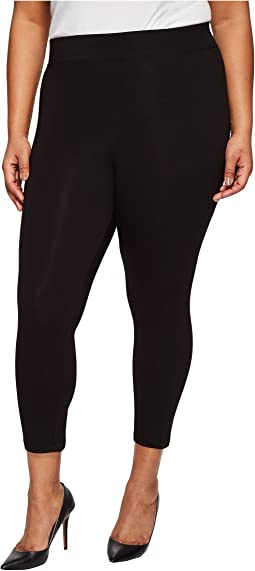 Plus Size Temp Control Cotton Capris