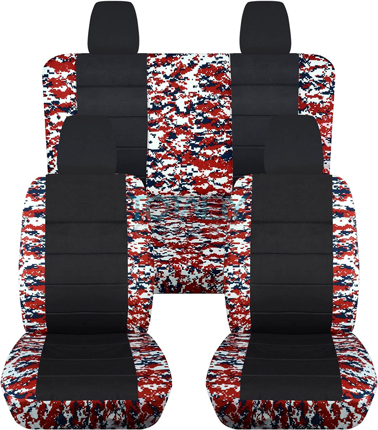 Totally Covers Compatible 正規品スーパーSALE×店内全品キャンペーン ご注文で当日配送 with 2011-2018 Wrangler Camo Jeep JK