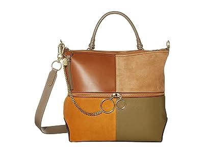 See by Chloe Emy Shoulder Bag (Luminous Ochre 2) Handbags