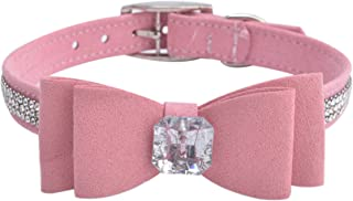 Best pink bow collar Reviews