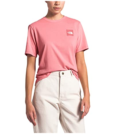 The North Face Box Short Sleeve Tee (Mauveglow) Women