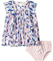 Kate Spade New York Kids - Brush Strokes Ruffle Dress (Infant)