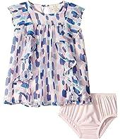 Kate Spade New York Kids - Brush Strokes Ruffle Dress (Infant)