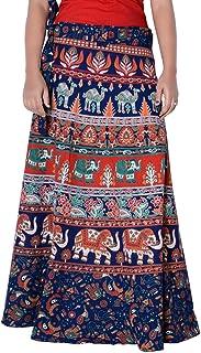 Rajvila Rajasthani Jaipuri Print Skirt for Women Comfortable Skirt for Women (F_W40NT_0001)