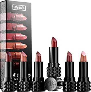 Kat Von D Best of Nudes Mini Studded Kiss Creme Lipstick Set