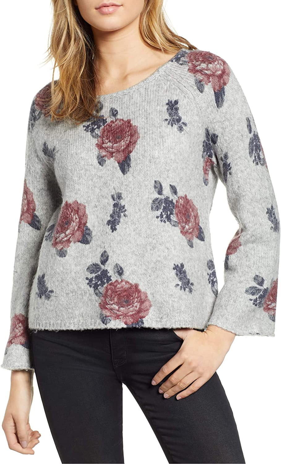 Lucky Brand Women's Sweater Floral Pullover Max Spring new work 60% OFF
