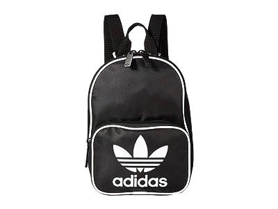 adidas Originals Originals Santiago Mini Backpack (Black) Backpack Bags