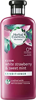 Herbal Essences bio:renew White Strawberry & Sweet Mint CONDITIONER, 400ml | No Parabens No Colourants
