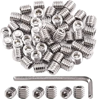 Black Finish Heat Treated Alloy Steel Pack of 5 Socket Set Screws Cup Point ?#6-40/ נ3//16?