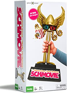 Schmovie New The Hilarious Game of Made-Up Movies (Family Game / Party Game for Kids 8 and Up, Tweens, Teens, Adults, Board Game Night)