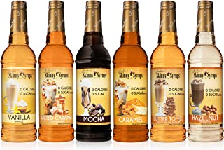 Jordan's Skinny Syrups |  Classic Syrup Sampler| Healthy Flavors with 0 Calories, 0..