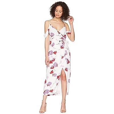 Bardot Floral Wrap Dress (Stencil) Women