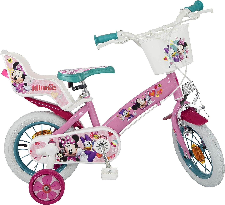 hasta 60% de descuento TOIMSA TOIMSA TOIMSA Bicicleta para Niños bajo Licencia Minnie Mouse 12Pulgada (de 3a 5años, 611u  suministro directo de los fabricantes