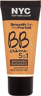 N.Y.C. New York Color BB Creme Foundation Bronze, Light, 1 Fluid Ounce