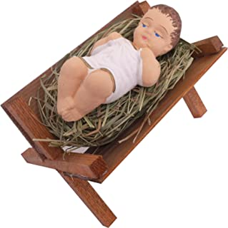 wooden crib for baby jesus
