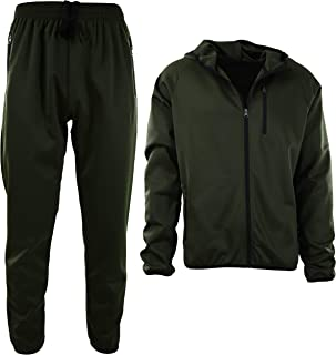 Best olive green tracksuit mens Reviews