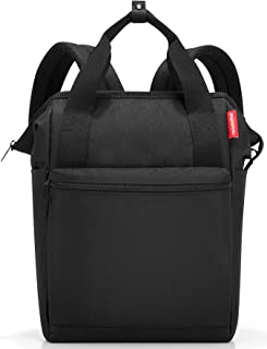 reisenthel Allrounder R Backpack, Secure Zipper, Two-Way Carry Handles, Black