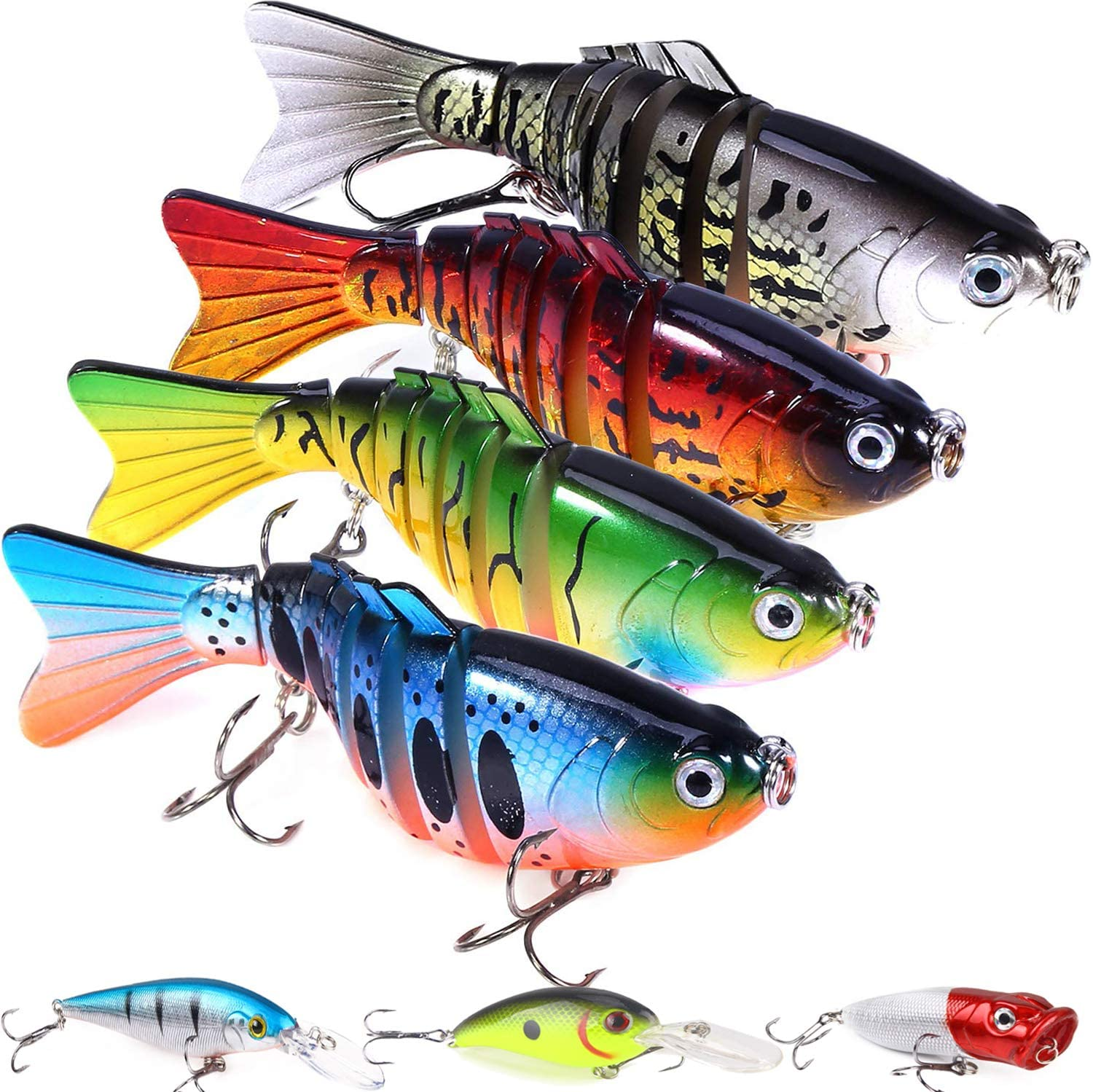 Fishing Denver Mall Lures with a Under blast sales Tackle Lifelike Bass Lur Box
