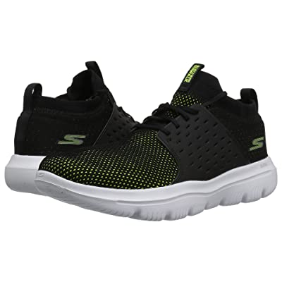 SKECHERS Performance Go Walk Evolution Ultra Turbo (Black/Lime) Men