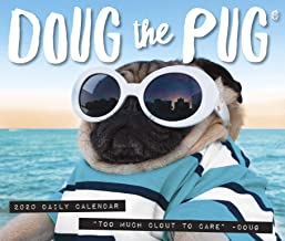 Doug the Pug 2020 Box Calendar (Dog Breed Calendar)