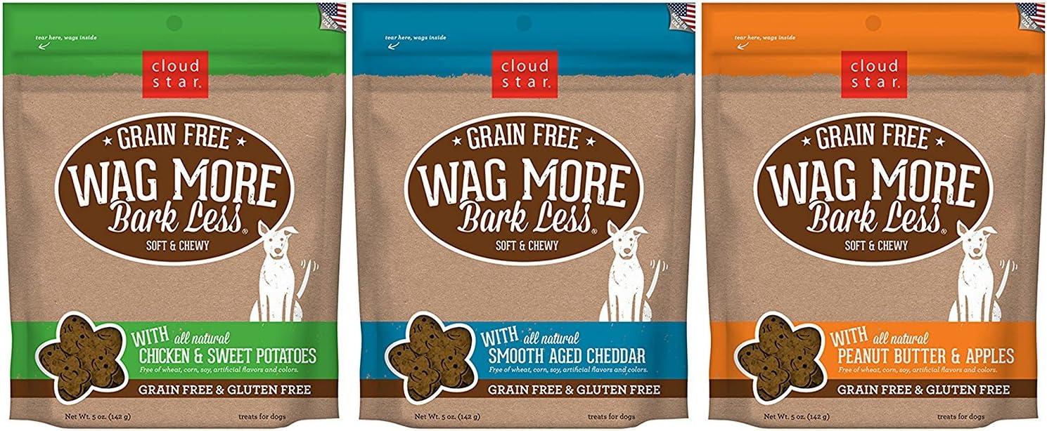 Cloud Star Memphis Mall Wag More Bark Less Dog Grain Cheap SALE Start Soft Chewy Treats Free