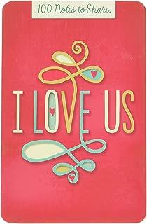 Hallmark BOK2186 I Love Us 100 Notes to Share
