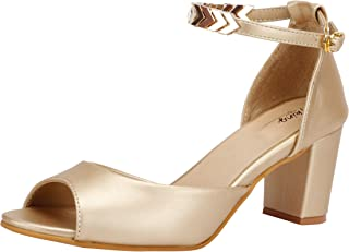 2bd09146936 Gold Women's Fashion Sandals: Buy Gold Women's Fashion Sandals ...