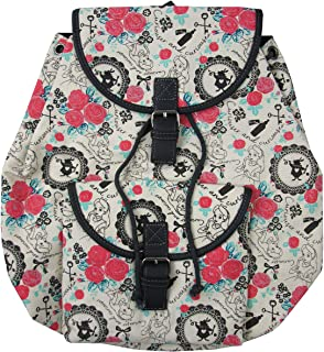 Loungefly x Disney Alice in Wonderland Rabbit Floral Allover-Print Backpack