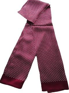 100% Silk Double Layer Men Scarf Neckerchief Fashion