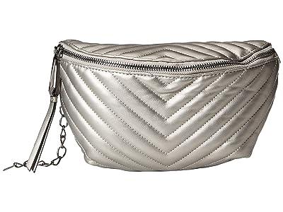 Jessica Simpson Bobbi Belt Bag (Pewter) Cross Body Handbags