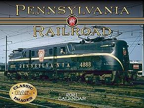 Pennsylvania Railroad Calendar 2021 Wall