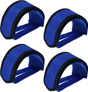 WILLBOND 2 Pairs Bicycle Feet Strap Pedal Straps for Fixed Gear Bike