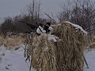 Image of 2 PACK-QG Duck Blind Camo Thatch Grass Bundles - (5'H x 4'W - 8 Sheets Total - 32 Linear feet)