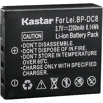 3,7v batería Li-ion compatible con Leica bp-dc8 bp-dc8e x1 x2-1400mah