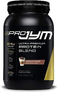 Pro JYM Protein Powder - Egg White, Milk, Whey Protein Isolates & Micellar Casein   JYM Supplement Science   Chocolate Mou...