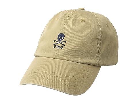 Polo Ralph Lauren Classic Sport Skull Chino Hat at Zappos.com 82248fc60cd