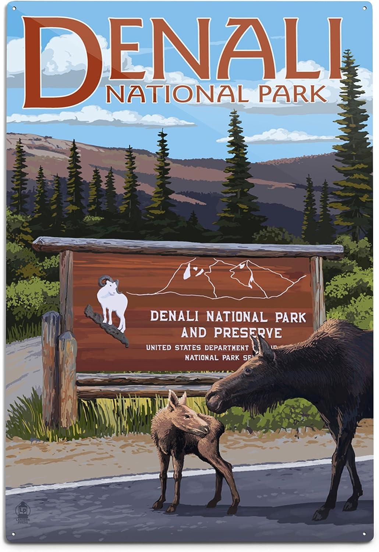 Lantern Super Special SALE held Alternative dealer Press Denali National Alaska 12x18 Entrance Park