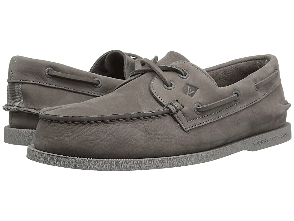 Sperry A/O 2-Eye Washable (Grey/Smoke) Men