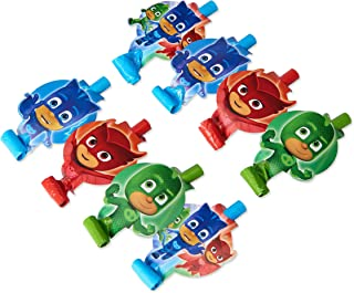 American Greetings PJ Masks Party Blowers, 8-Count