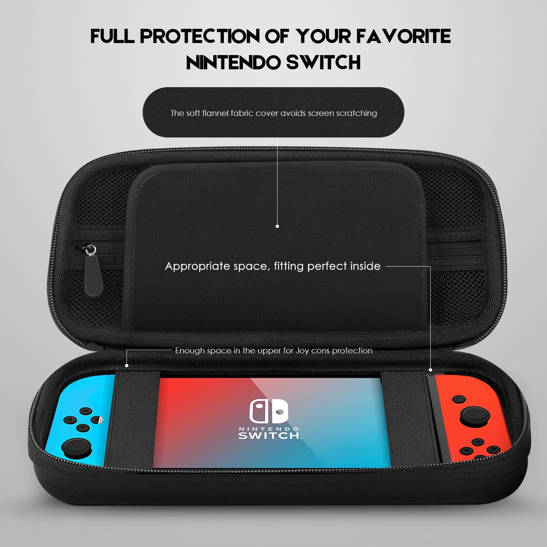 Estuche Nintendo Switch, Dopobo Nintendo Switch Estuche: Estuche ...