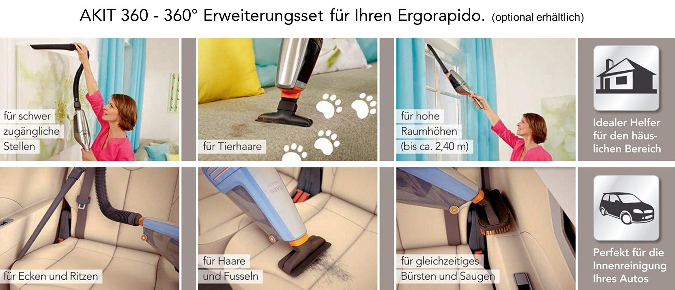 AEG AG6120 - Aspiradora de mano, color gris: Electrolux---Aeg-Pae ...