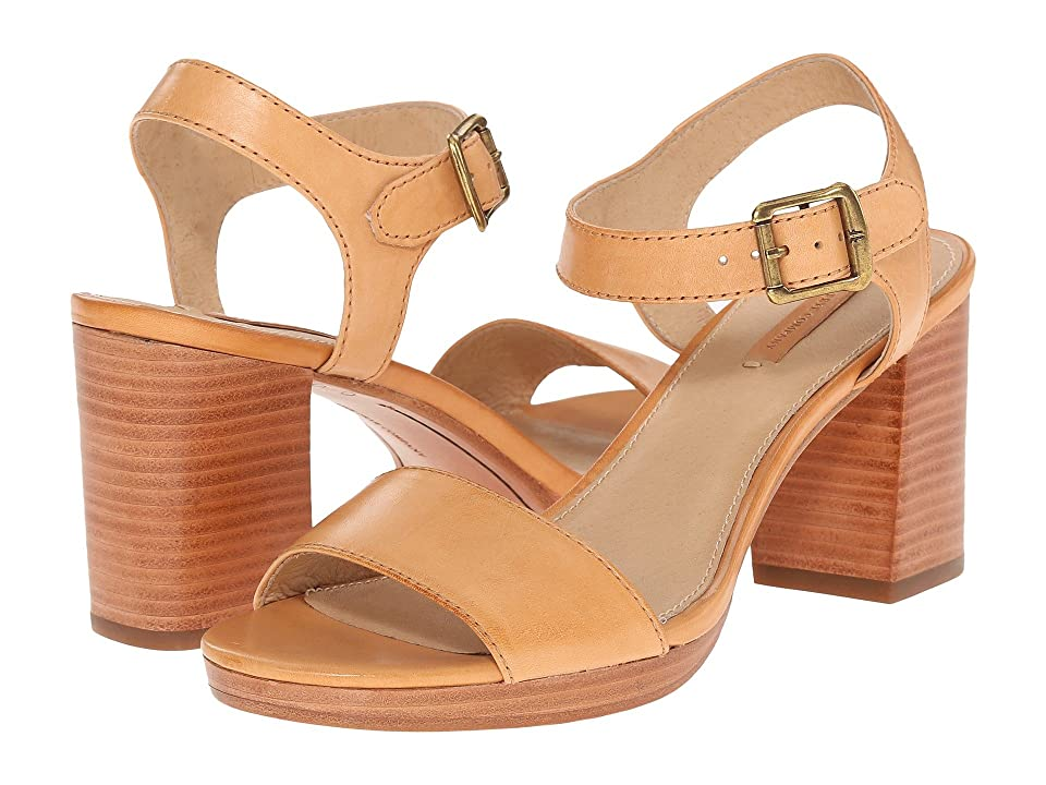 Frye Blake 2 Piece (Natural Smooth Full Grain) High Heels