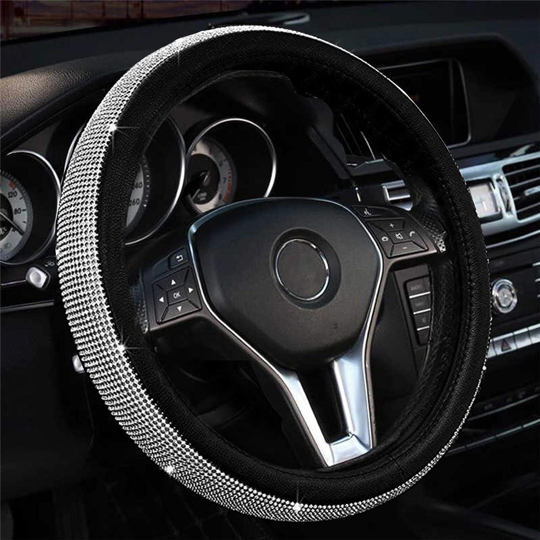 Selling rankings Kinhand Bling Steering Wheel Cover with Cute Crystal Gorgeous Rhinestone