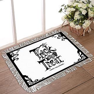 """Doormat for Outdoor Entrance 20""""x31.5"""" Non Slip Rubber Back Tassel Front Door Rugs for Indoor Happy Halloween Low Profile ..."""