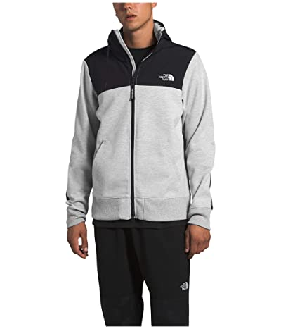 The North Face Graphic Collection Overlay Jacket (TNF Light Grey Heather) Men