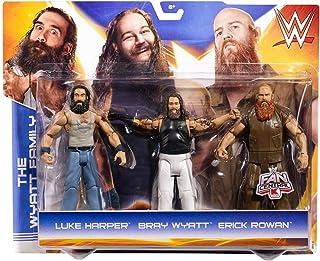 عبوة من 3 قطع من WWE The Wyatt Family Eric Harper Luke Rowan and Bray Wyatt