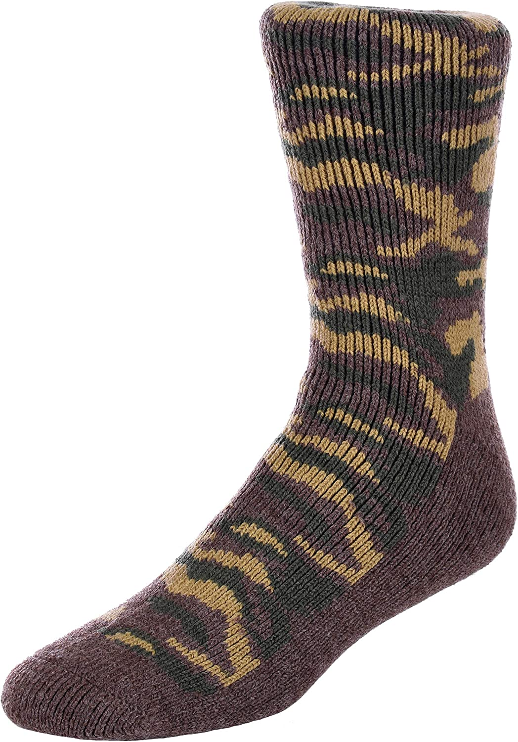 47580d86b8b28 Men's Polar Extreme Insulated Thermal Camouflage Pattern Pattern Pattern  Socks in 3 Great colors d67b17