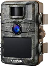 【2020 Upgrade】 Campark Trail Camera 16MP 1080P Game&Hunting Camera No Glow Night Vision 44 Pcs Invisible IR LEDs Wildlife ...
