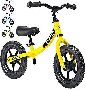 Sawyer - Bicicleta Sin Pedales Ultraligera - Niños 2, 3 y 4